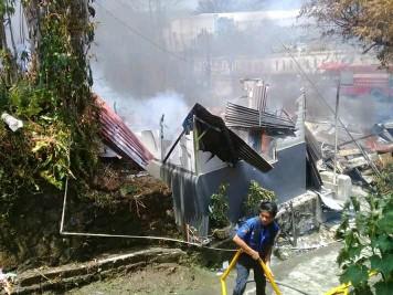 'Jago Merah' Mengamuk di Tikala Baru. 3 Rumah Ludes, Kerugian Capai Ratusan Juta Rupiah