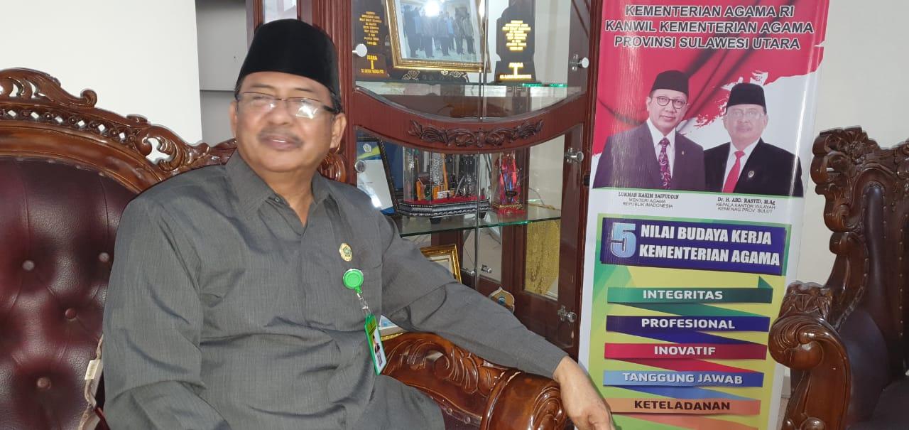 KaKanwil Kemenag Sulut H.Abd.Rasyid : Saya Akan Bentuk Tim Investigasi Calo Jual Beli CJH