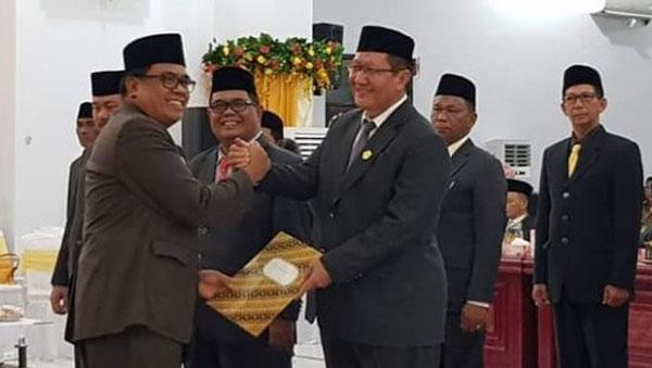Pelantikan 25 Legislator Sangihe Periode 2019-2024