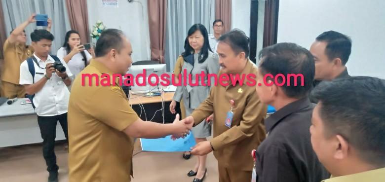 Jabat Plt Kadispora Manado. Tony Mamahit: Akan Saya Lanjutkan Program Pejabat Lama