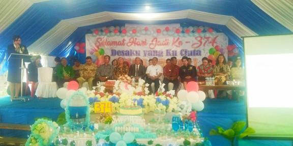 Rayakan HUT ke 374, Desa Kauditan Satu Laksanakan Ibadah Syukur