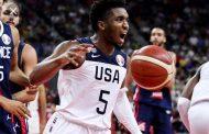 Gagal Melaju ke Semifinal, Tim Basket USA Dihajar Tim Basket Perancis (Video)