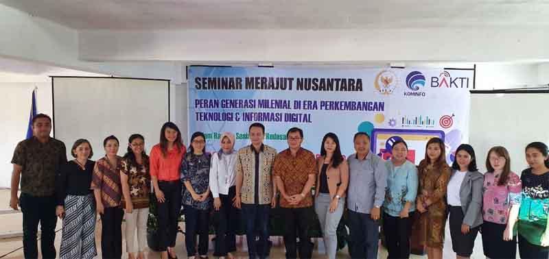 """(Video) Jadi Narasumber Seminar Merajut Nusantara di UNPI. Jerry Sambuaga: """"Di Saring Sebelum Di-Sharing"""""""