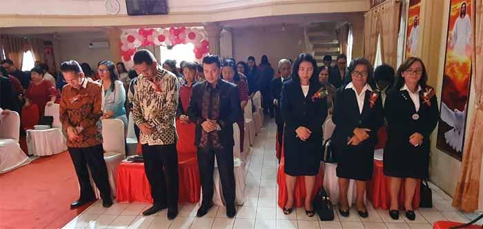 Ibadah Perayaan HUT ke-73 KGPM Tesalonika Tanjung Batu Manado