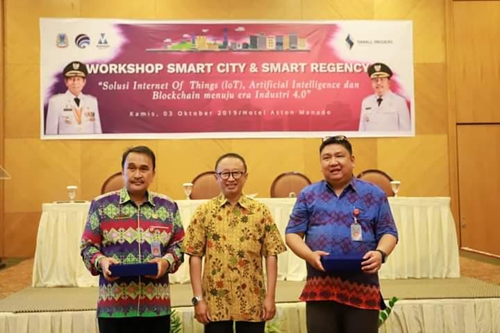 Diskominfo Manado Gelar Workshop Smart City dan Smart Regency
