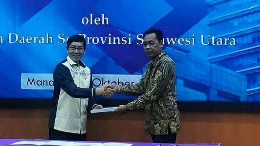 Wali Kota Vicky Lumentut Tandatangani Komitmen Pemeriksaan BPK