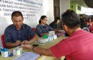 Gelar Pemeriksaan Kesehatan PKM untuk Lansia Kelurahan Kolongan dan Kolongan 1 Tomohon