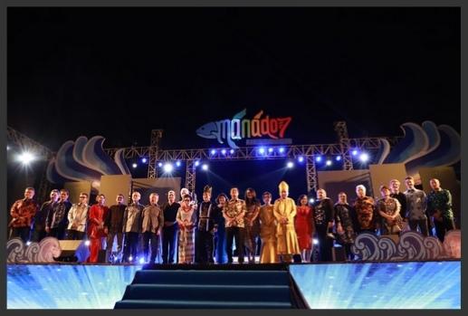 Manado Fiesta Resmi Masuk TOP 100 National Event 2020
