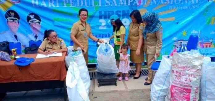 DLH Manado Terus Giatkan Bank Sampah
