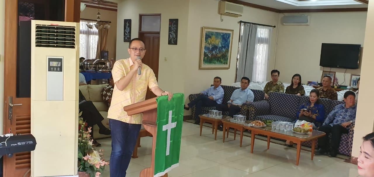Masuk Kabinet Indonesia Maju, DR Jerry Sambuaga Gelar Syukuran