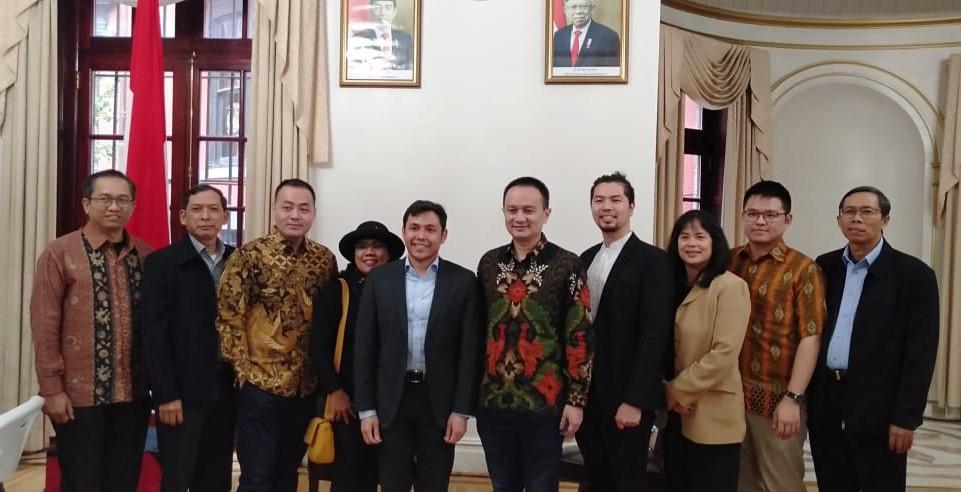 Kunker ke- AS, Wamendag RI  Gelar Pertemuan dengan Importir dan Diaspora Ekonomi Indonesia