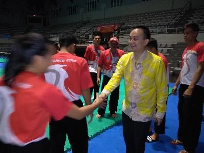 Usai Dimotivasi Langsung Wamen Jerry Sambuaga, Para Atlet Silat Sulut Tambah  Tiket ke PON XX-2020 Papua