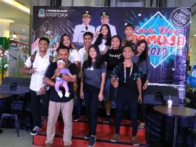 Lomba Kreasi Pemuda 2019, Sanggar Credo, Juara Lomba Musicalisasi Puisi