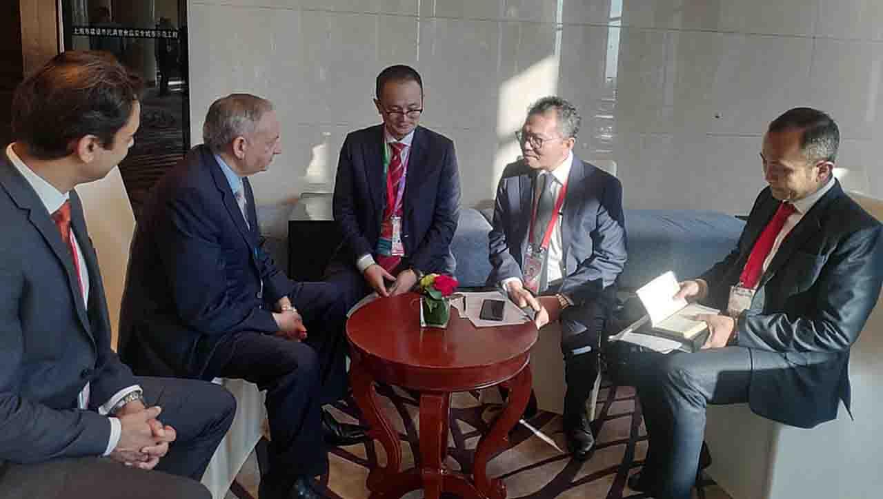 Pertemuan Bilateral Indonesia dan Pakistan. Staf Ahli PM Pakistan Beri Apresiasi Pemerintah Indonesia