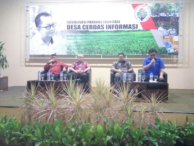Digagas KDPDTT,  80 Desa Minut Ikuti Sosialisasi Panduan Fasilitas Desa Cerdas Informasi
