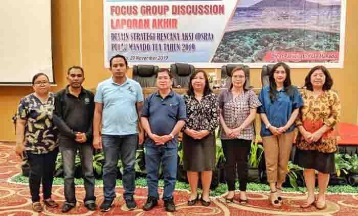 Gelar FGD DSRA, Dispar Manado Bangun Citra Pariwisata Pulau Manado Tua Jadi Destinasi Potensial