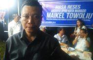 Maikel Towoliu Tampung Aspirasi Masyarakat Malalayang II Dalam Reses