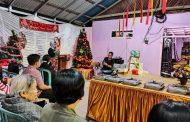 Patut Dicontoh, Diketuai Seorang Muslim Ibadah Pra Natal Rukun Liuw Weroy Sukses Digelar