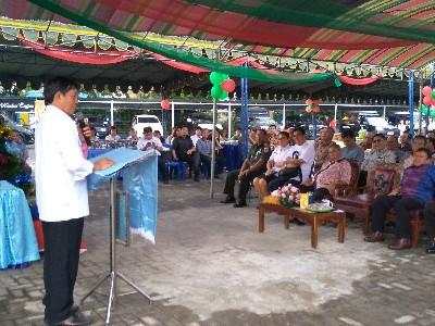 Bersafari Natal di Kecamatan Malalayang, Wali kota GSVL: Siapkan Hati Sambut Natal