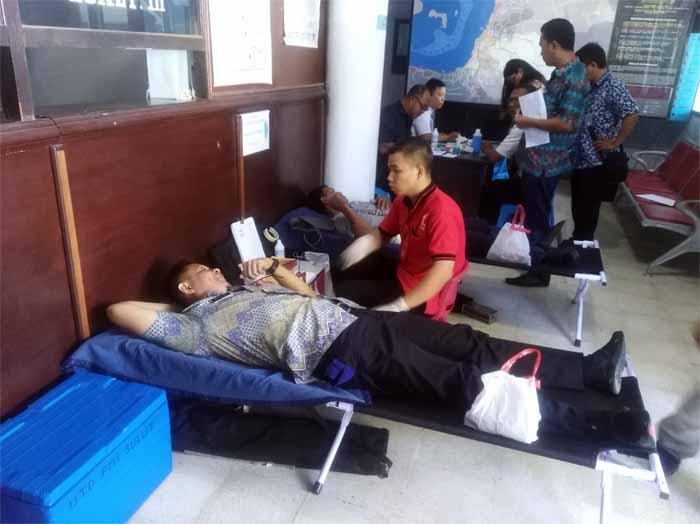 Gelar Baksos, Dishub Manado Gelar Donor Darah