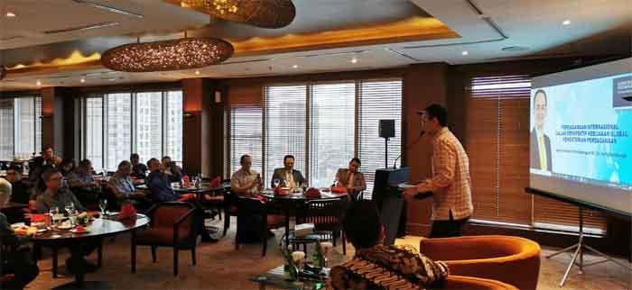 Wamendag RI, Jerry Sambuaga Berikan Pemaparan di Acara 'IndoSterling Executive Briefing'