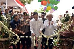 Mendag Agus Suparmanto Resmikan Pasar Banjarejo, Blora, Jawa Tengah. Masuk Dalam Program Nawacita Presiden Jokowi