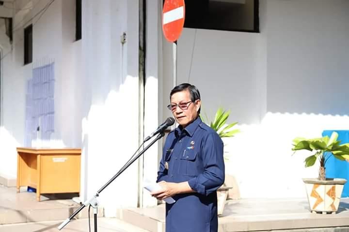 Wali Kota Vicky Lumentut: Camat,  Lurah dan Kaling Terus Ingatkan Warga Soal Kebersihan Drainase