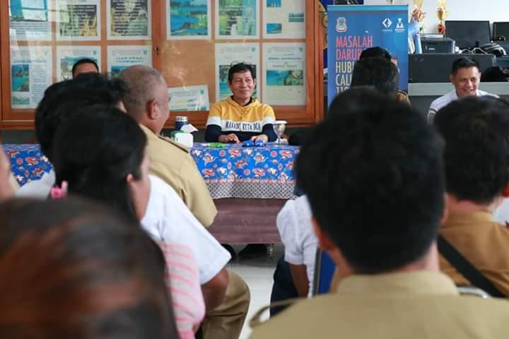 Wali Kota Vicky Lumentut Kunker ke Bunaken Kepulauan. Minta Pemerintah Wilayah Tingkatkan Pelayanan