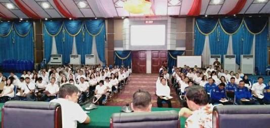 Senin, 27 Januari 2020, Semua Calon THL Pemkot Manado Wajib Ikut Apel Perdana