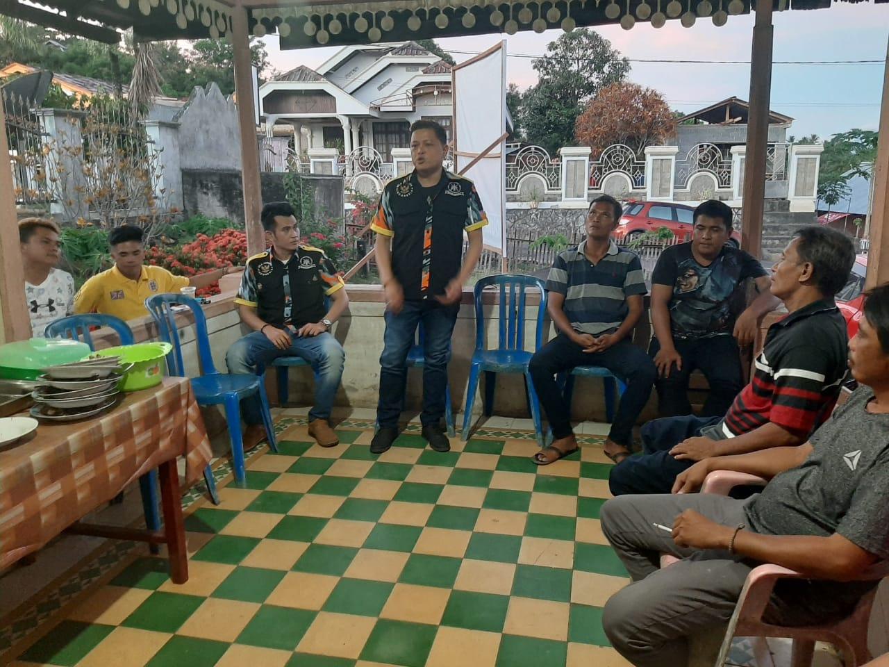 Howard Paparkan Visi-Misi GMBI di Kecamatan Kema