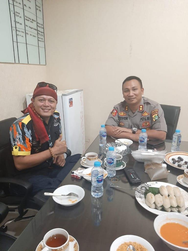 Jabat Wakapolres Jakarta Timur, Tamuntuan Dapat Selamat dari Ketua GMBI Sulut