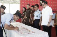 Wawali Mor Bastiaan Hadiri Pencanangan Zona Integritas Wilayah Bebas Korupsi di Rutan Negara Kelas IIA Manado