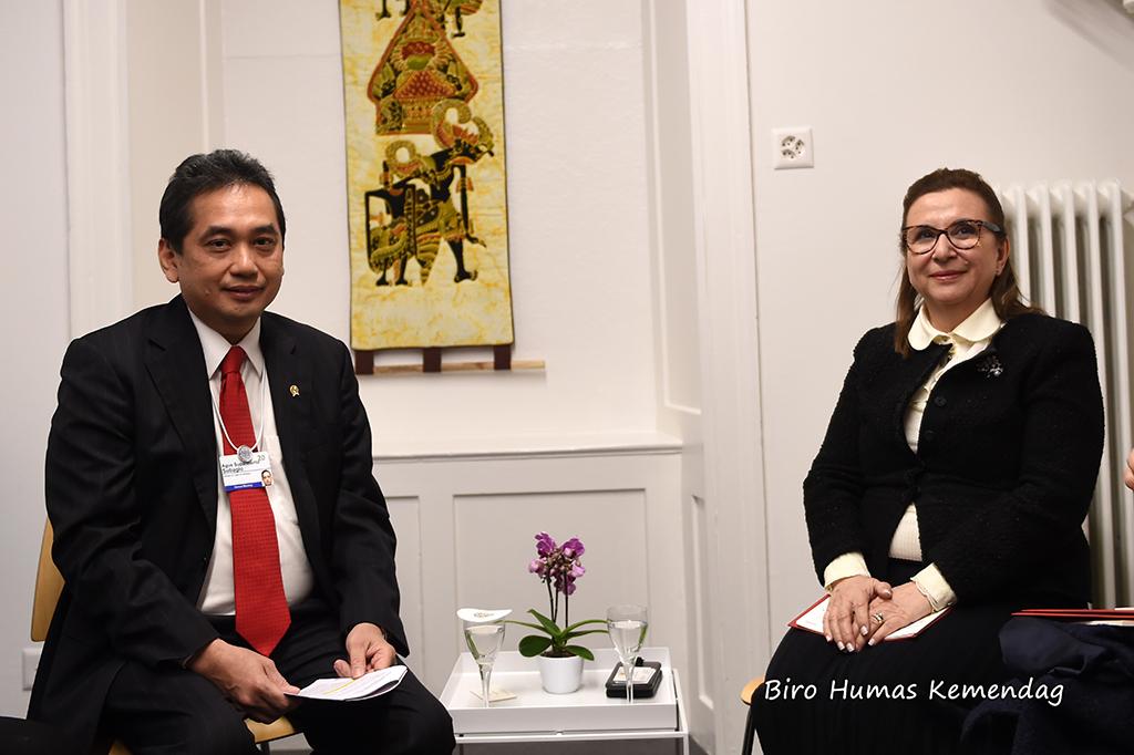 Pertemuan Bilateral Mendag RI dengan Mendag Turki. Bahas Perjanjian IT-CEPA