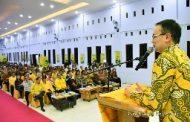 Jerry Sambuaga, Ketua Panitia  Perayaan Natal 2019 Partai Golkar di Labuan Bajo