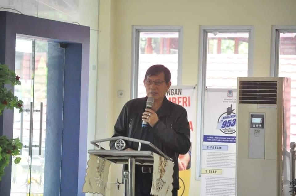 GSVL-MOR Hadiri Ibadah Syukur Kantor Inspektorat Baru di Kayuwatu