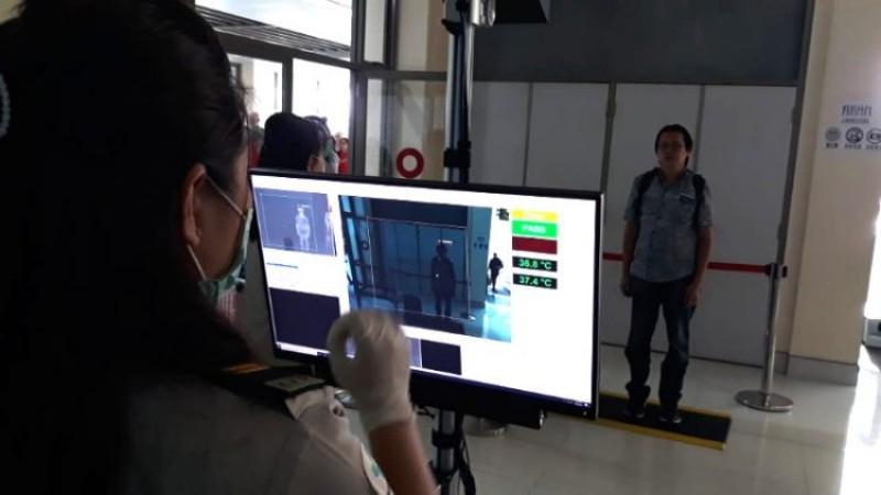 Antisipasi Penyebaran Virus Corona, KKP Kelas II Manado Siapkan Alat Thermal Scanner di Bandara Sam Ratulangi