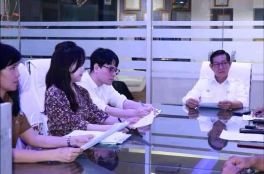Wali kota Vicky Lumentut Terima Investor Korsel. Tindaklanjuti MoU Investasi Taman Bunga dan Eko Wisata di Kota Manado