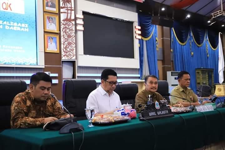 Pemkot Manado Gelar Rakor dan Sosialisasi Percepatan Akses Keuangan Daerah Oleh OJK