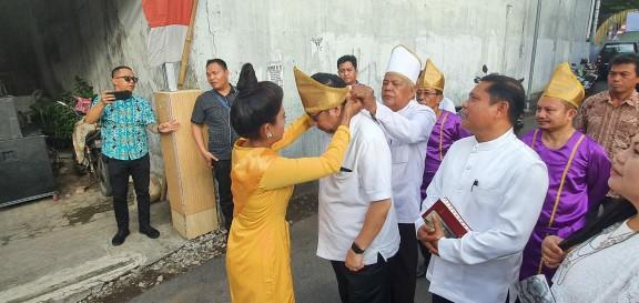 Wawali Mor Bastiaan Hadiri Ibadah Syukur Pesta Adat Tulude GMPU Jemaat Iktus Sario