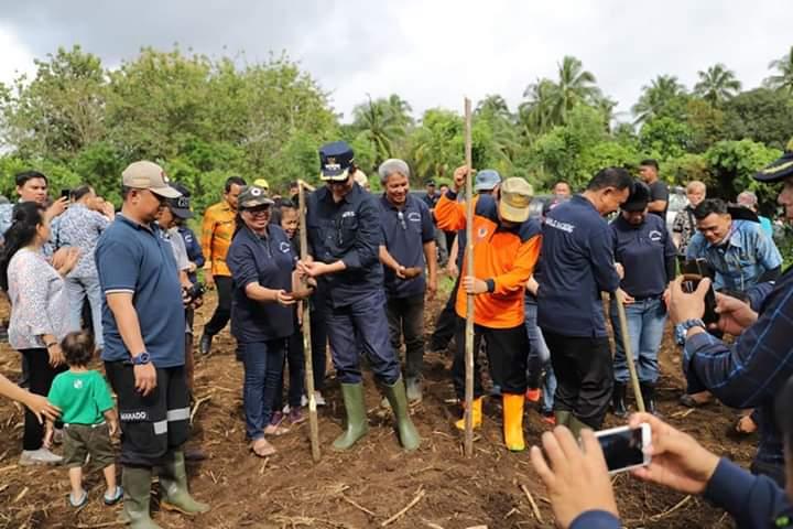 Program Manado Ba Kobong, Wali kota GSVL: Kita Penuhi Kebutuhan Pangan Keluarga