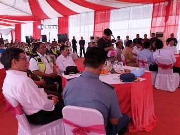 Wali kota GSVL Hadiri Groundbreaking Pembangunan Bandara Samrat Manado