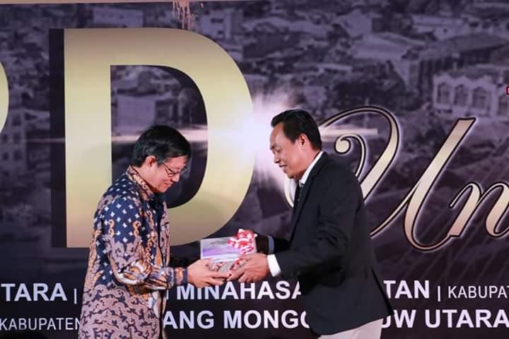 Wali Kota Vicky Lumentut Serahkan LKPD 2019 anaudited ke BPK