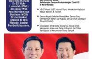 Wawali Mor Harap Sekolah Patuhi Surat Edaran Wali Kota Manado