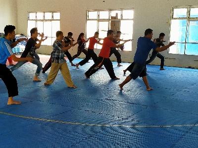 Dispora Manado Gelar Pelatihan Pelatih Pencak Silat