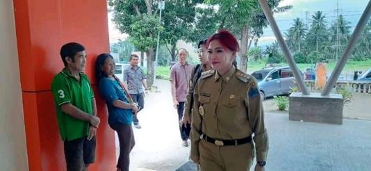 Gerak Cepat Berantas Covid-19, Bupati VAP Cek Kesiapan RSUD Walanda Maramis