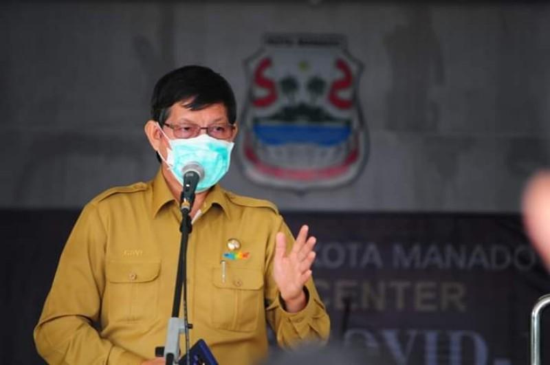 Edaran Berhenti Total 3 Hari. Wali Kota Manado Vicky Lumentut: Bukan Dari Pemkot Manado