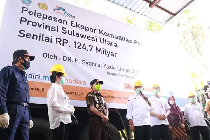 Dampingi Menteri Pertanian,  Wali Kota GSVL: Manado Pilot Project Konsep Family Farming
