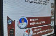 Torehkan Prestasi, Bupati VAP Bawah Minut Juara II Pemenang Anugerah Sensanitasional Award 2020