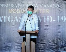 Terima Bantuan APD dari Pemprov Sulut, Wali kota GSVL : Terima kasih Pak Gubernur, Bantuan Ini Sangat Membantu