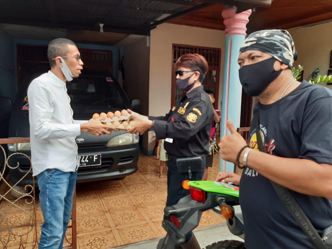 Aksi Sosial Rahman Ismail Terus Berlanjut, Kali Ini Kecamatan Kema